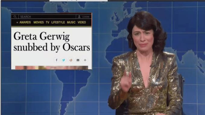 'SNL': Melissa Villaseñor Calls Out Greta