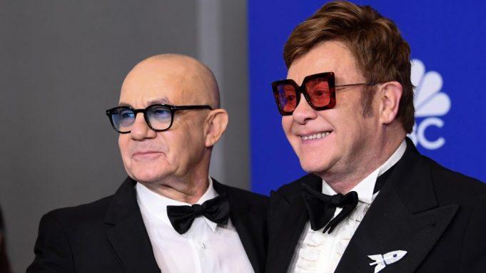 Bernie Taupin and Sir Elton John