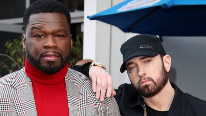 Eminem Inducts 50 Cent Into Hollywood's Walk of Fame - Variety