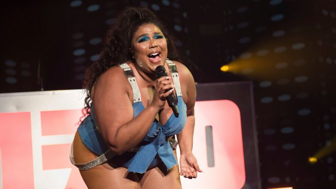 Lizzo performs at the Fillmore Miami