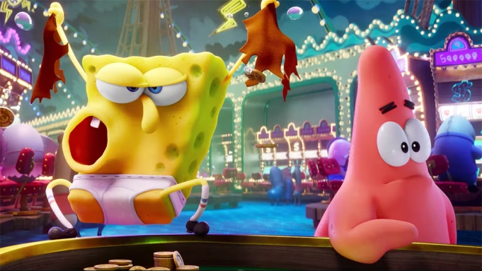 Spongebob Movie Trailer