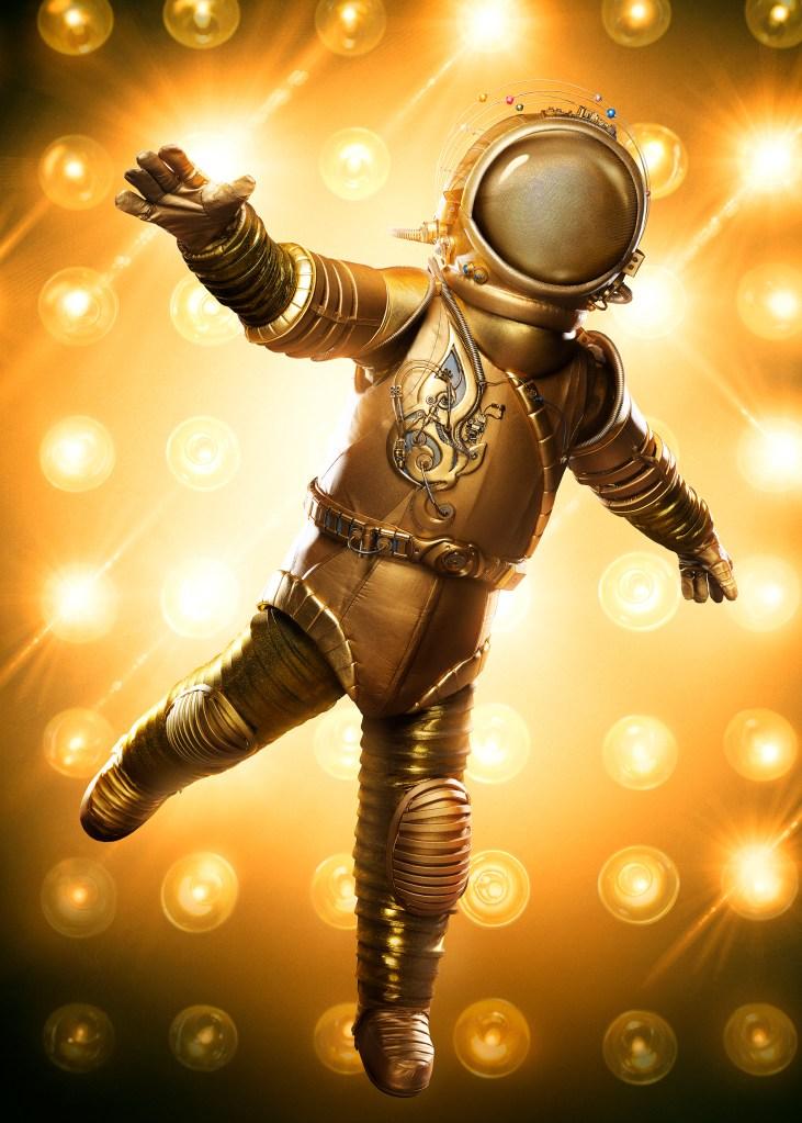 THE MASKED SINGER: The Astronaut. CR: Michael Becker / FOX. © 2020 FOX MEDIA LLC.