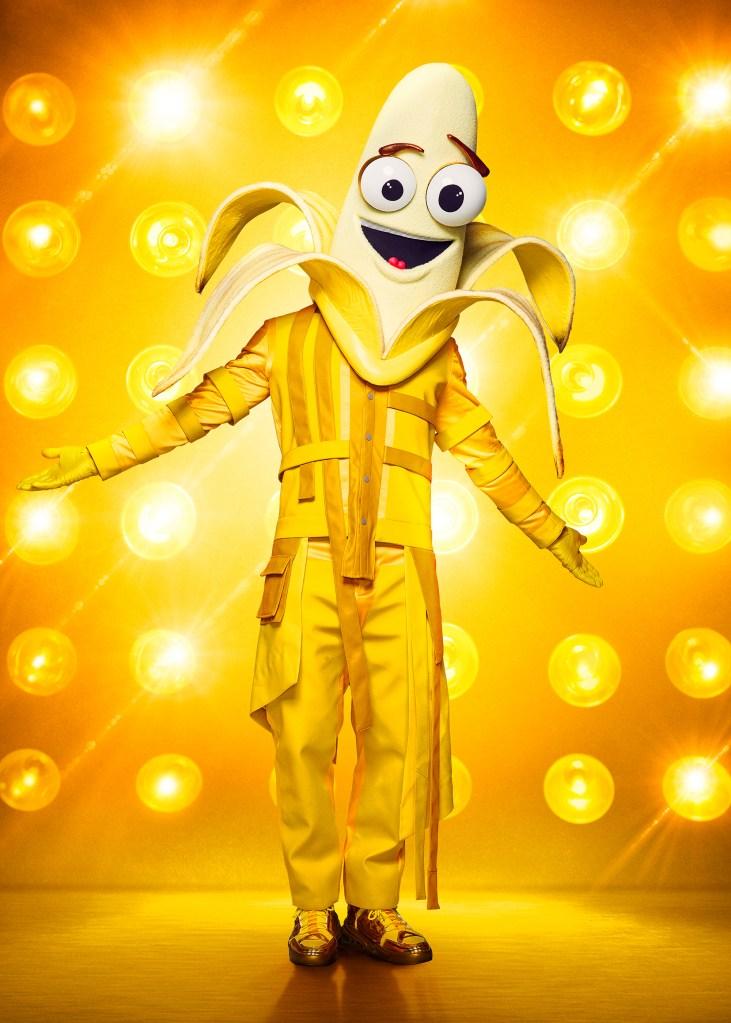 THE MASKED SINGER: The Banana. CR: Michael Becker / FOX. © 2020 FOX MEDIA LLC.