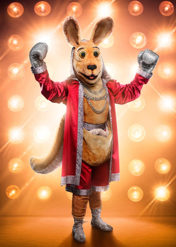THE MASKED SINGER: The Kangaroo. CR: Michael Becker / FOX. © 2020 FOX MEDIA LLC.