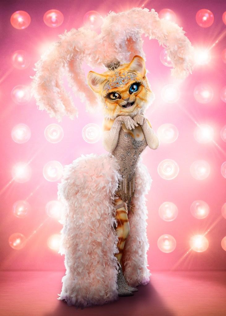 THE MASKED SINGER: The Kitty. CR: Michael Becker / FOX. © 2020 FOX MEDIA LLC.