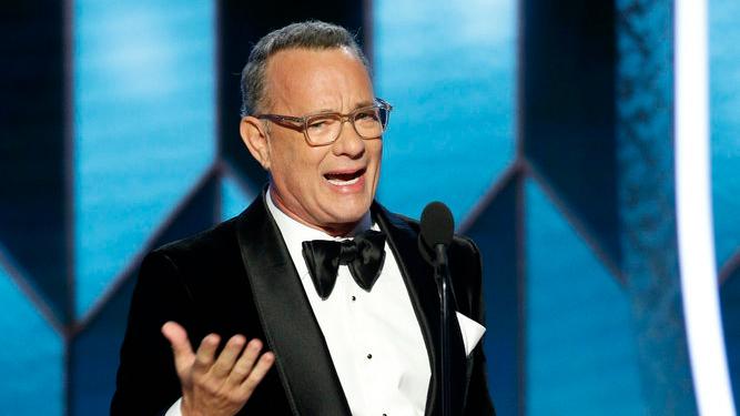 Tom Hanks Golden Globes