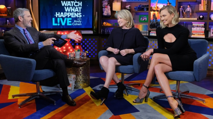 WATCH WHAT HAPPENS LIVE WITH ANDY