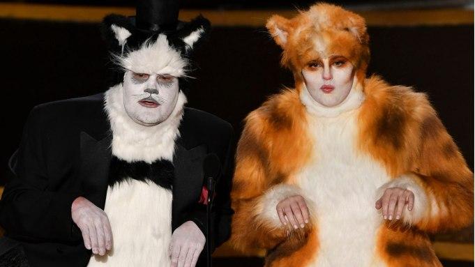 James Corden Rebel Wilson Cats Oscars