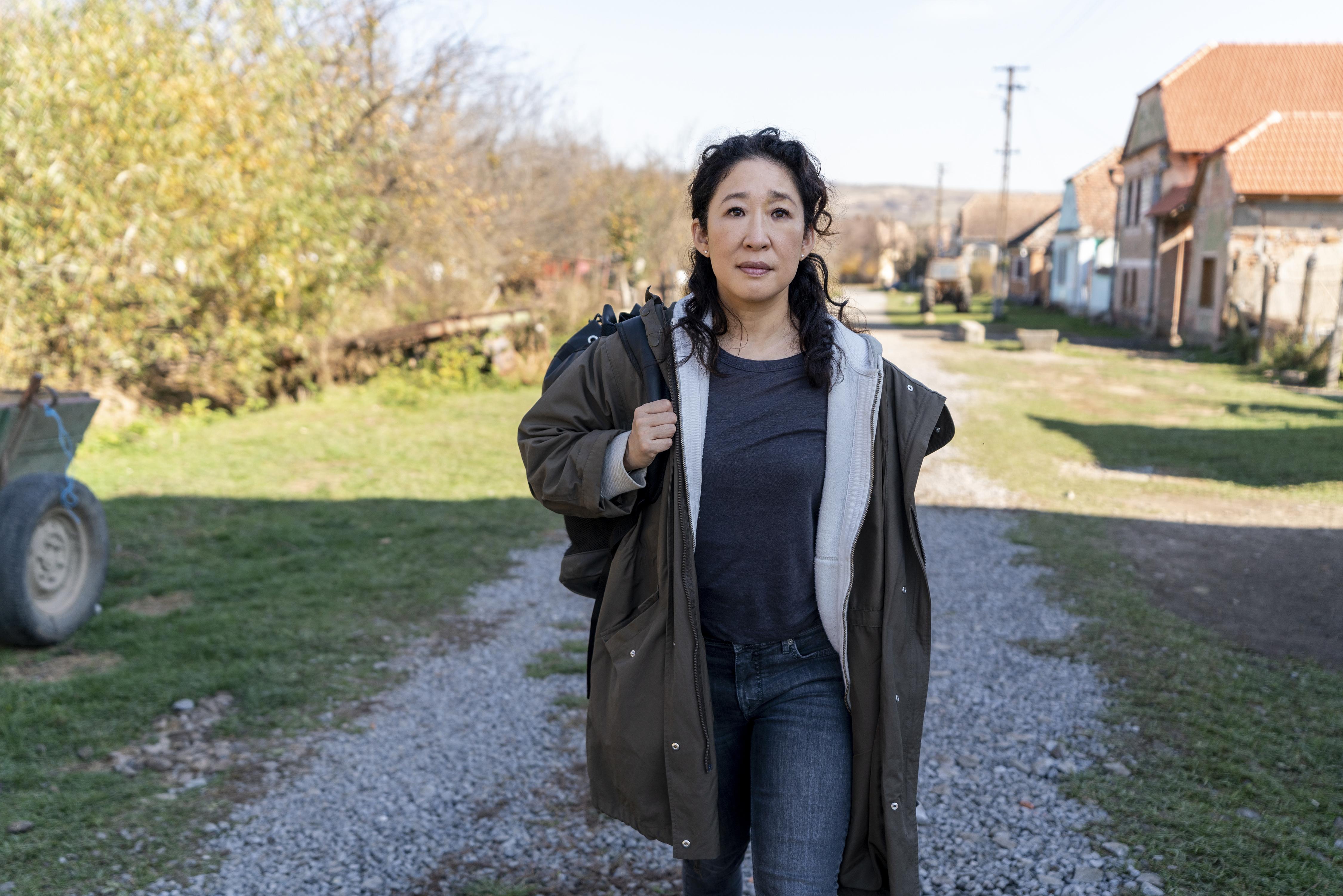 Sandra Oh as Eve Polastri - Killing Eve _ Season 3 - Photo Credit: Des Willie/BBCAmerica/Sid Gentle