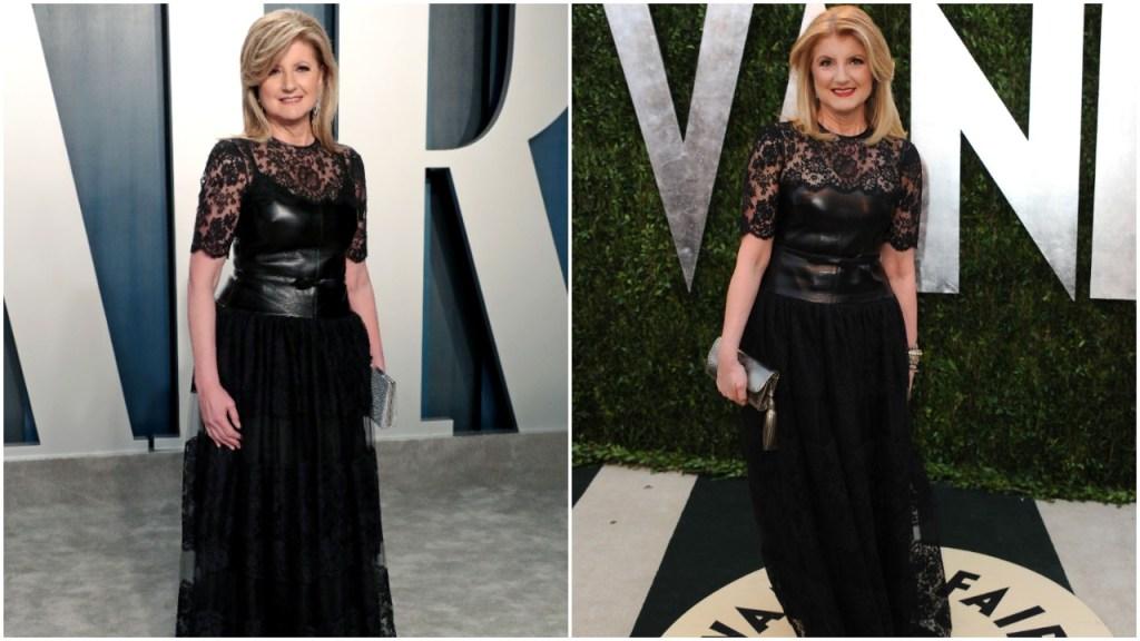 Arianna Huffington Vanity Fair Gown