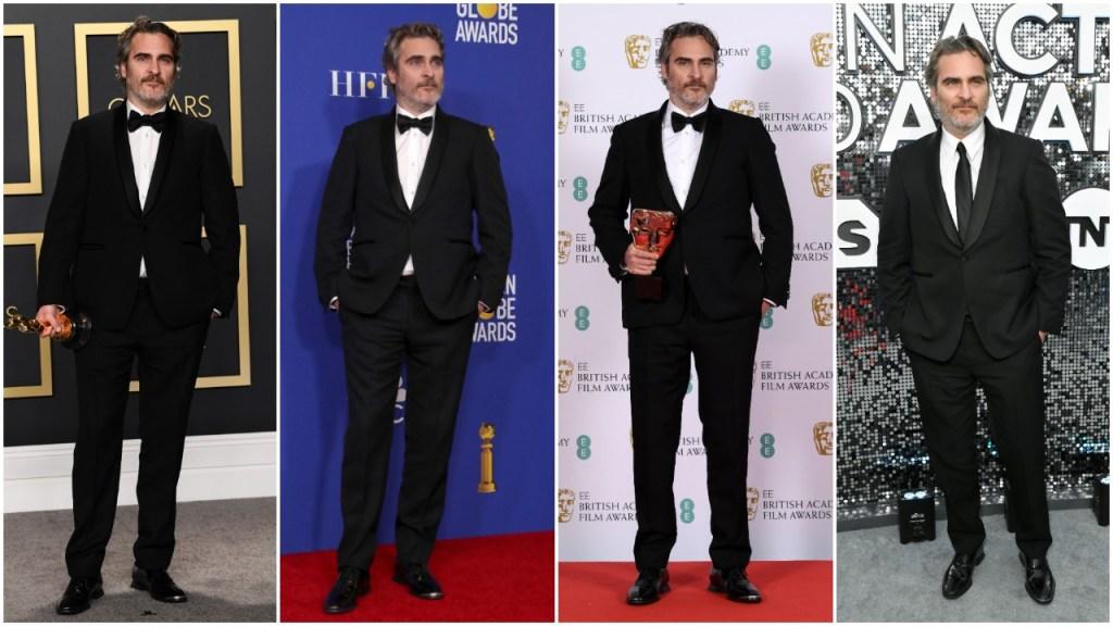 Joaquin Phoenix Fashion 2020 Award Season