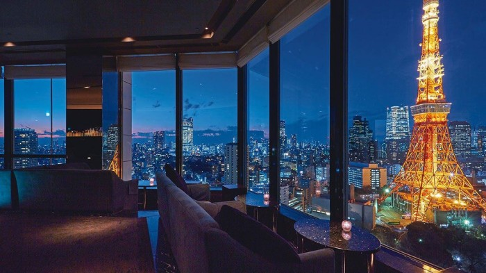 Prince Park Tower Hotel in Tokyo