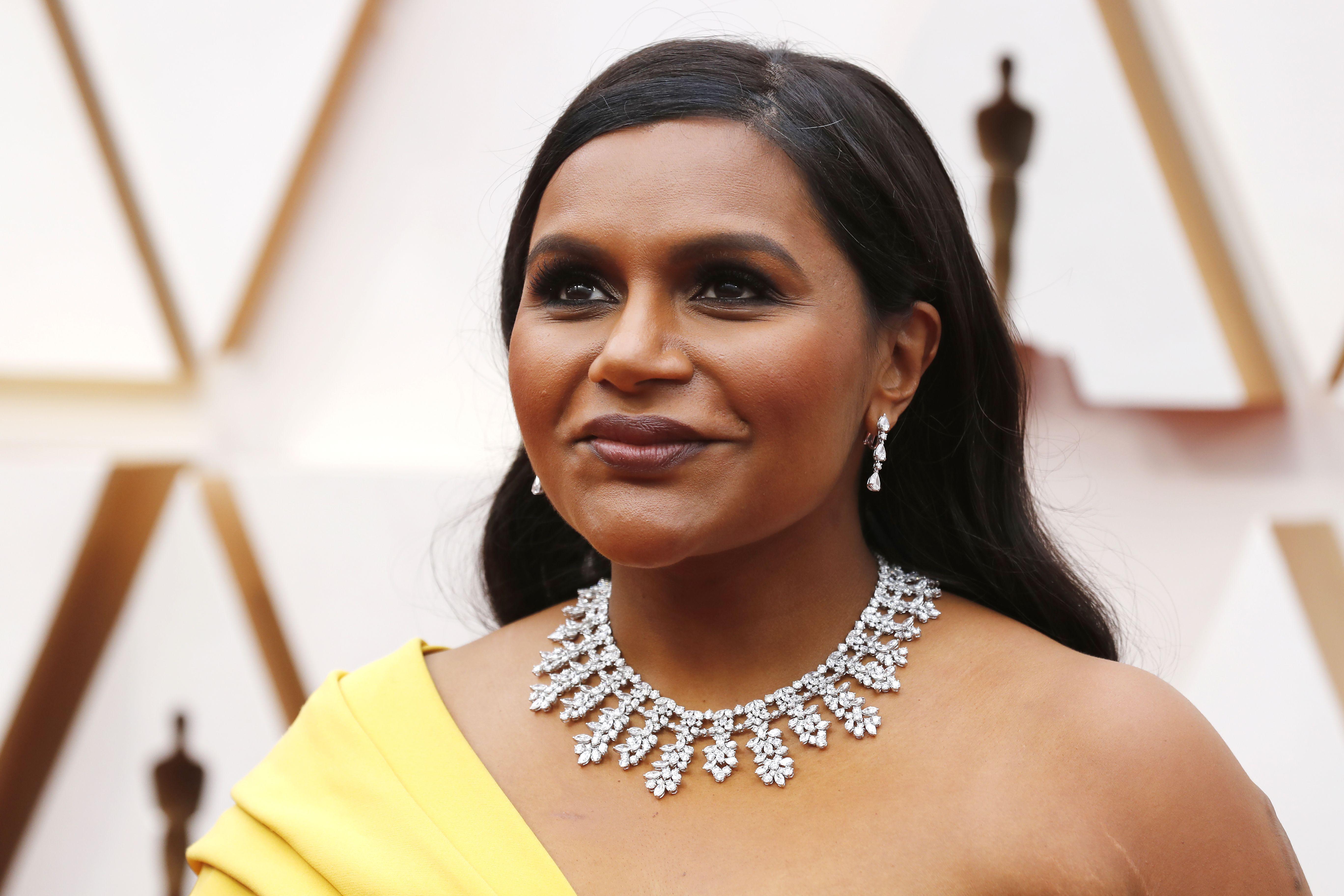 Mindy Kaling Oscars Fashion