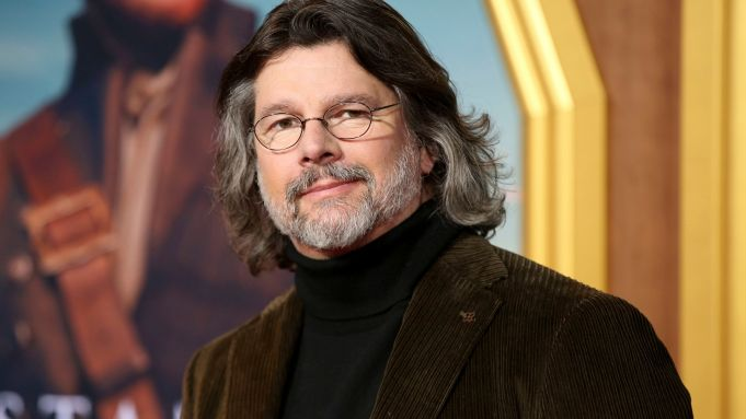 Ronald D. Moore arrives at the