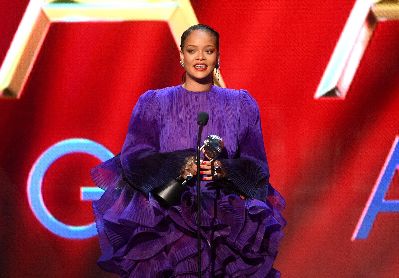 Rihanna 51st Annual NAACP Image Awards, Show, Pasadena Civic Auditorium, Los Angeles, USA - 22 Feb 2020