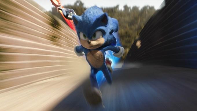 Sonic (Ben Schwartz) in SONIC THE