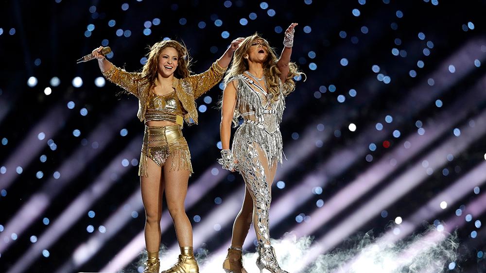 Super Bowl Halftime Show Jennifer Lopez And Shakira Perform Variety
