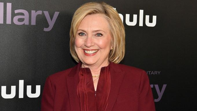 Hillary Clinton'Hillary' film premiere, Arrivals, New