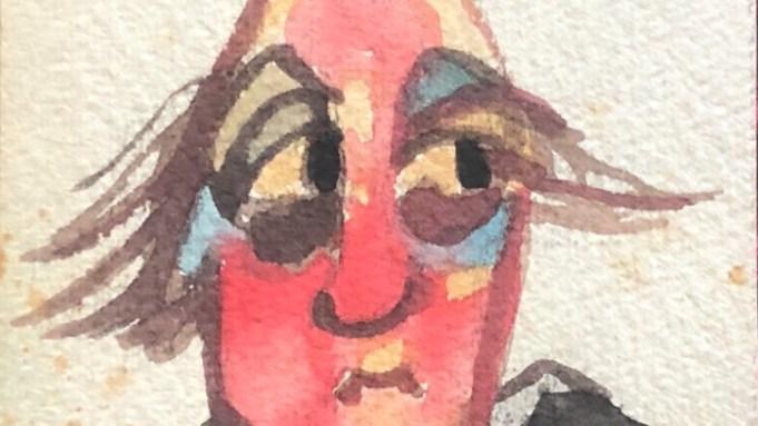 Fellini Self Portrait