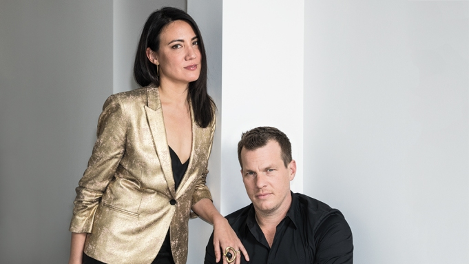 Lisa Joy and Jonathan Nolan Westworld