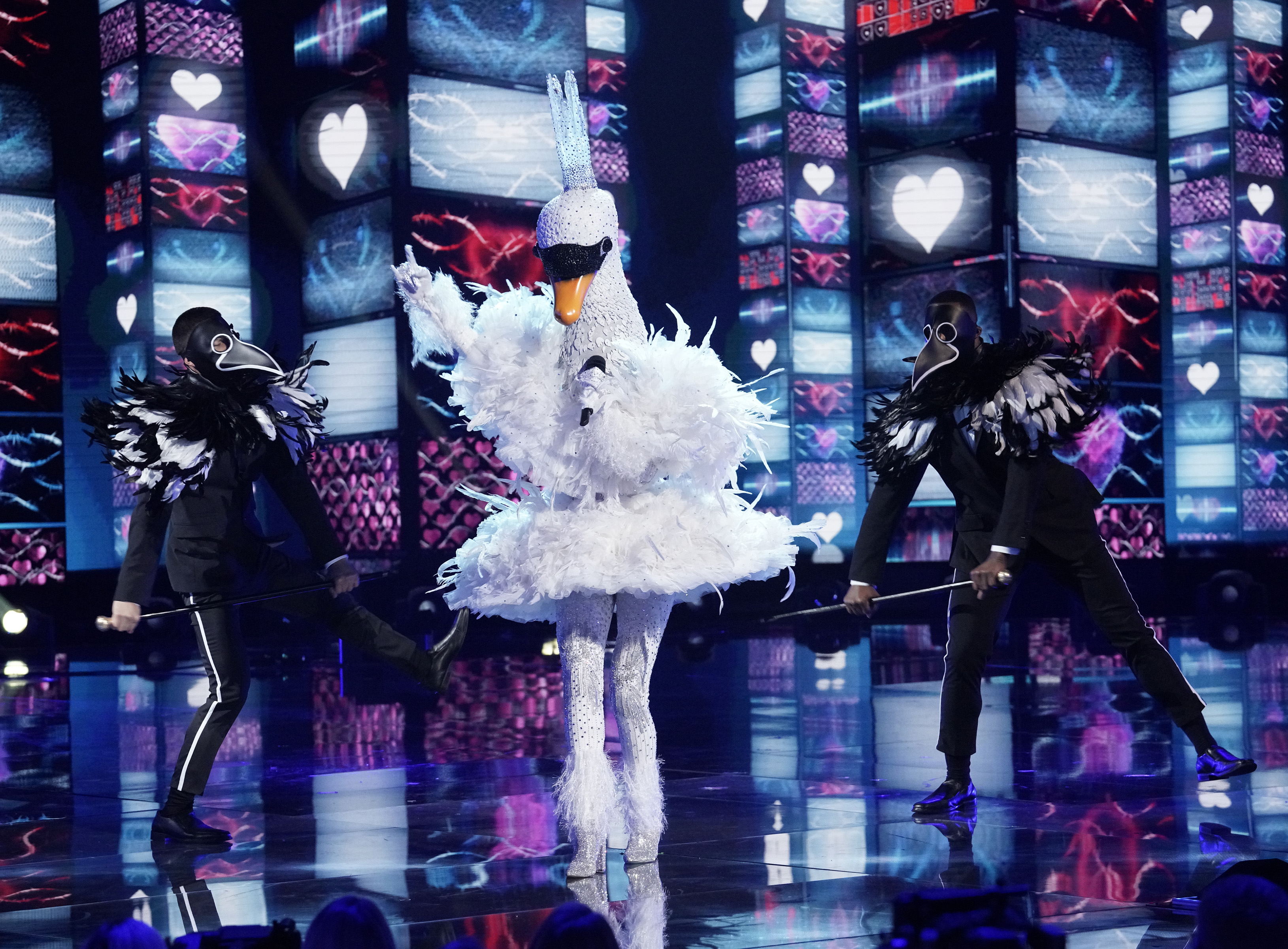 The Masked Singer Reveals The Identity Of The Swan Variety