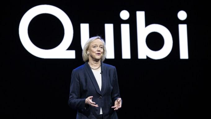 Quibi Meg Whitman CES 2020