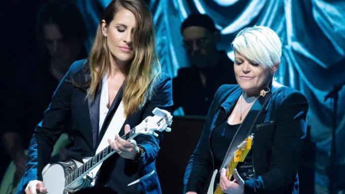 Emily Robison and Natalie Maines of