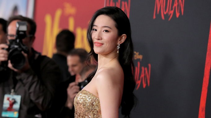 Yifei Liu 'Mulan' film premiere, Arrivals,