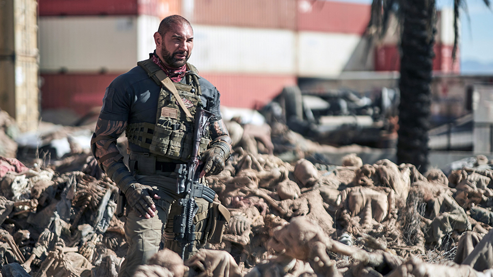 ARMY OF THE DEAD, Dave Bautista, 2021. ph: Clay Enos / © Netflix / courtesy Everett Collection