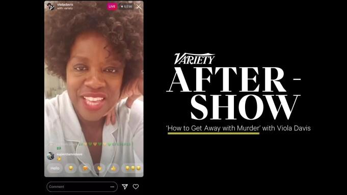 Viola Davis Variety After Show