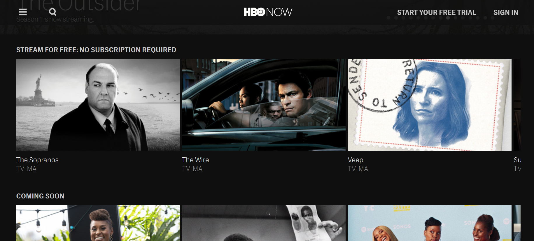 HBO Now - Stream for Free No Subscription Required