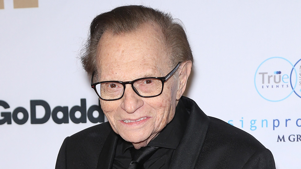 Larry King's Best Celebrity Interviews: From Marlon Brando's Kiss to Jerry Seinfeld's Fit – Variety