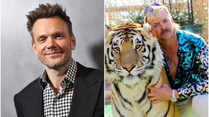 Joel McHale The Tiger King and