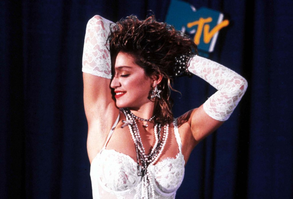 Madonna at 1984 Mtv Video Music Awards September 14 1984Madonna 1984