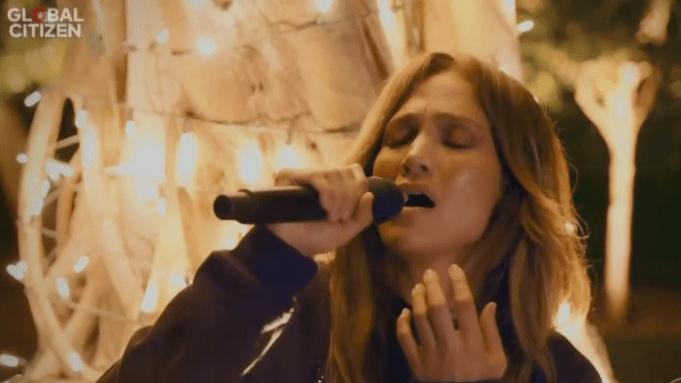 Jennifer Lopez Covers Barbra Streisand's 'People'