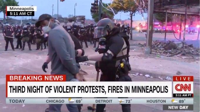 CNN Reporter Omar Jimenez Arrested on