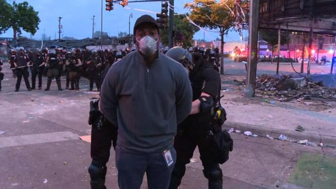 CNN Journalist, Crew Arrested During Riots