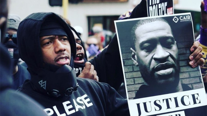 Nick Cannon protest