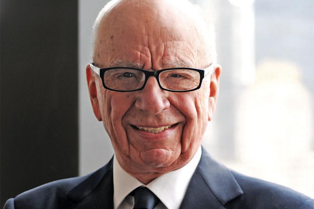 Rupert Murdoch Receives COVID-19 Vaccine in U.K.