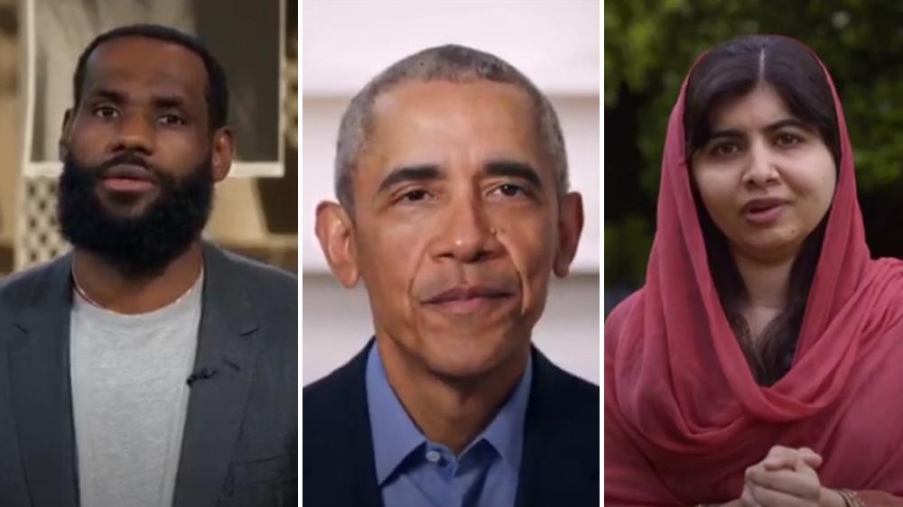 'Graduate Together:' Barack Obama, LeBron James and More Virtually Celebrate Class of 2020