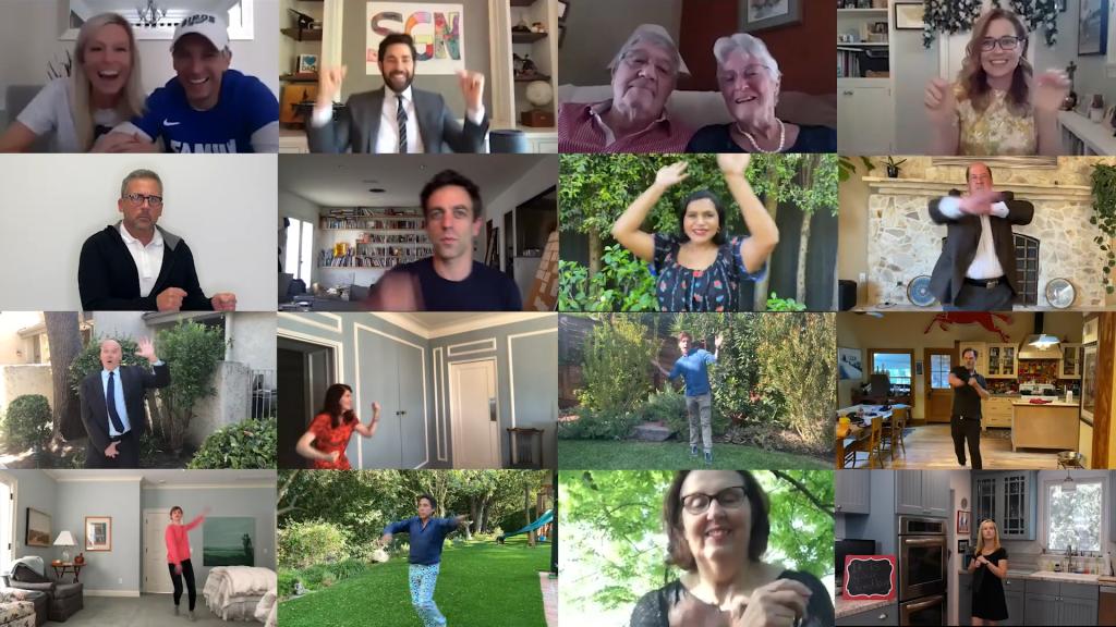 'The Office' Cast Reunites to Celebrate Couple's Wedding on John Krasinski's YouTube Show