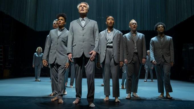 """David Byrne performing in """"American Utopia"""""""