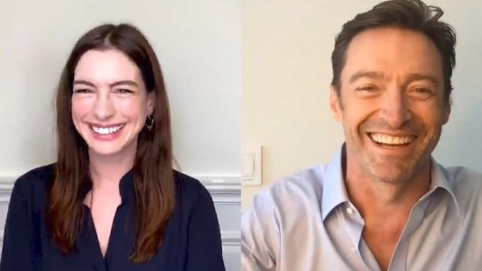 Anne Hathaway Hugh Jackman Actors on