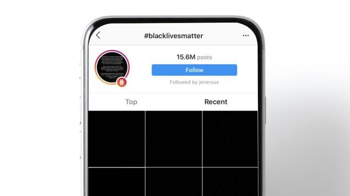 BlackoutTuesday Instagram Posts Don't Help #BlackLivesMatter (Column) -  Variety