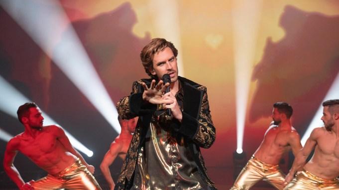 Eurovision Dan Stevens Song Lion of