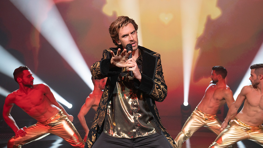 Dan Stevens on Eurovision, Lion of Love and Working With Will Ferrell -  Variety