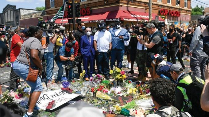 George Floyd Memorial Reporting While Black