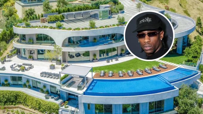 Travis Scott Buys 23 5 Million Los Angeles Mansion Variety