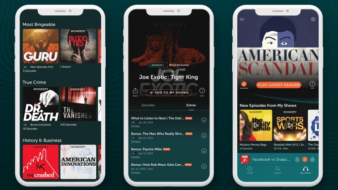Wondery App Podcast Launch