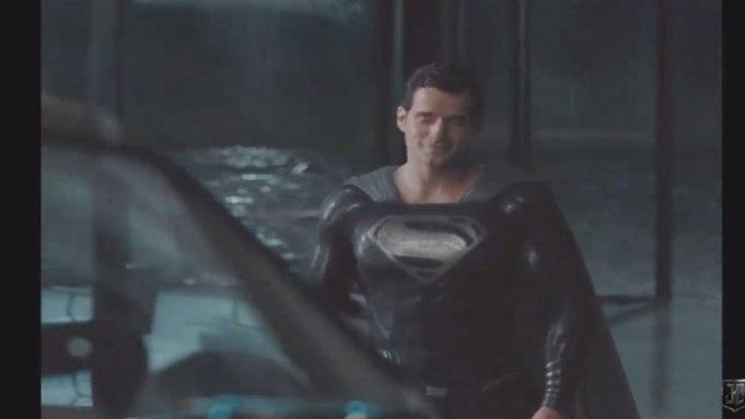 Superman Black Suit 'Justice League'